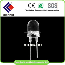 Superbright Transparent Straw 10mm round dip led