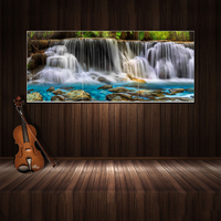 Factory direct modern abstract multi 3 panels group prinits canvas wall art