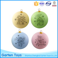 Custom shatterproof colorful decoration plastic christmas ornament ball
