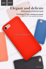 HOCO for I7 Original series Silica gel pc cover protective case silicone cover silky smooth soft phone shell
