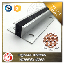 1.0mm thickness aluminium movement expansion joint covers