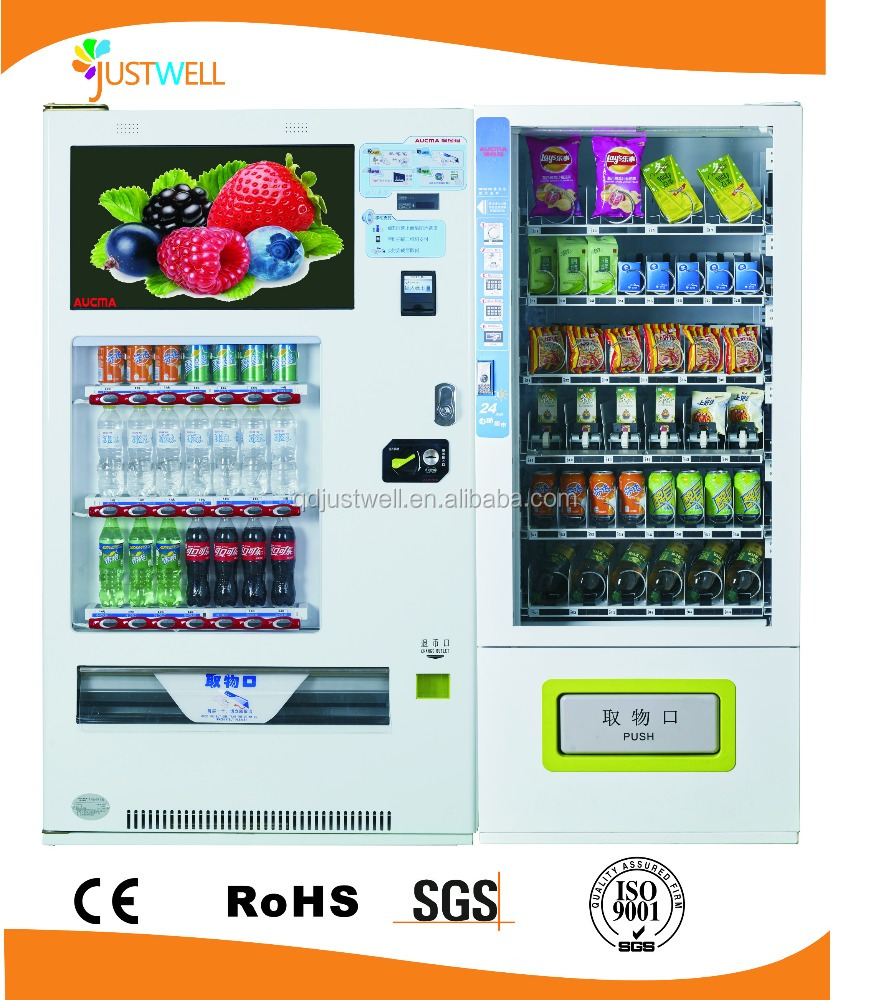 combined vending machine/bread vending machine/breakfast vending machine