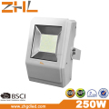 Unique design 250W SMD LED Flood light 100-240VAC IP65 wateproof outdoor lighting wihite color