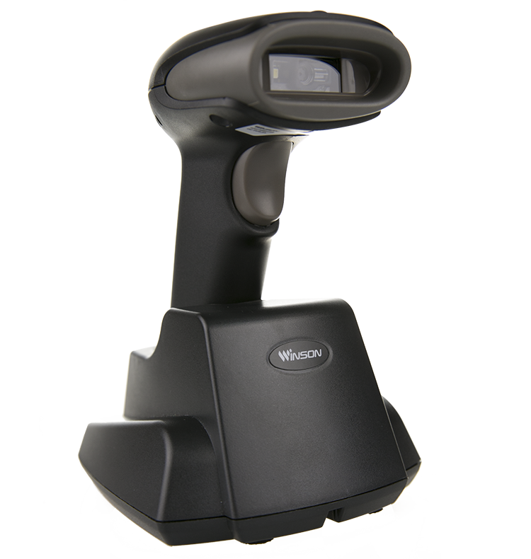 New Design Wireless Barcode Reader / Mobile Pos Handheld 2D barcode Scanner RS232