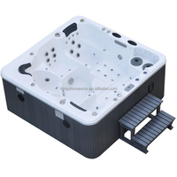 outdoor hydrotherapy wooden acrylic spa JCS-07