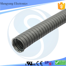 2017 Hot Sales PVC Cover Metal Flexible Conduit Corrugated Pipe /Tube Price