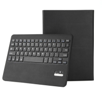 2 in 1 Detachable Bluetooth Keyboard Voltage Leather Case with Holder & Wake-up / Sleep Function for iPad Pro 9.7 inch(Black)
