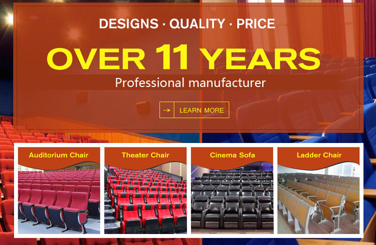 Foshan furniture factory aluminium price theater auditorium seating for sale