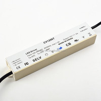 12v 5a 60w constant voltage waterproof IP67 LED driver/LED power supply for LED module with CE,ROHS approved
