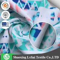 beautiful color fashion rayon printed fabric for clothing