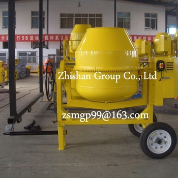 CM600L (CM50-CM800) Portable Electric Gasoline Diesel Concrete Mixer