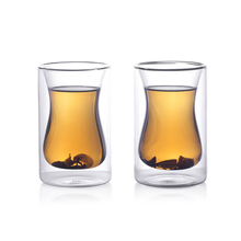 2017 home itemTurkish Style heat resistant mug Double Wall Insulated Borosilicate Thermo Glass Tea Cups