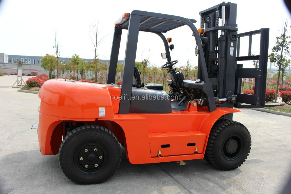 hydraulic cylinder 7tons hyundai diesel forklift truck for sale