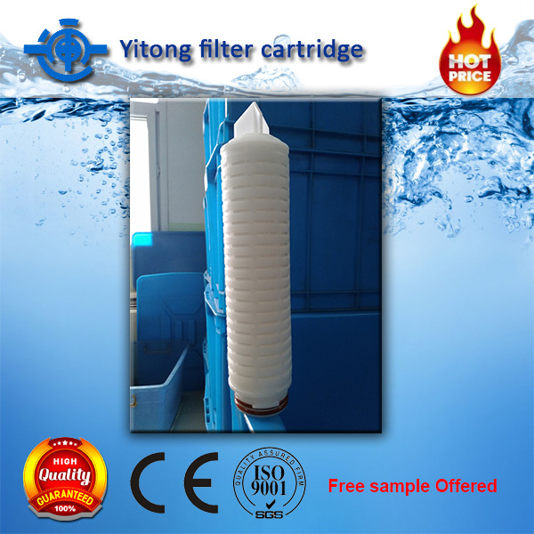 100% Integrity tested filter cartridge with PES filter <strong>membrane</strong> for Pharmaceutical manufacturing industry