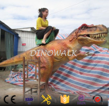 DW-1238 Animatronic coin operate dinosaur ride game for kids