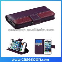 Lychee PU Wallet Book Leather Case for iPhone4S 4 With Stand,For iPhone 4SFlip Cover Case,High Quality