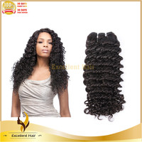 Top selling products 2015 malaysian deep wave 100 virgin human hair weave pictures