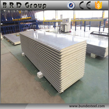 hot sale soundproof polyurethane sandwich panel partition wall material