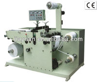 Paper roll die cutting machine