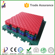 Factory Directly Promotion 100% pp raw material indoor inline hockey sports flooring