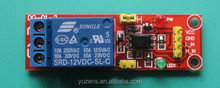 DC 5V 1 Channel Relay Module Optocoupler Isolation High/Low Level Trigger