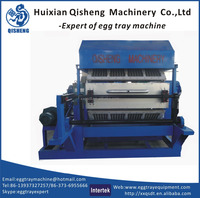 low cost egg carton machinery/8faces rotary egg carton machine/waste paper moulding machine