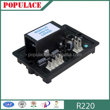 Made in fujian avr for generator R220 avr prices