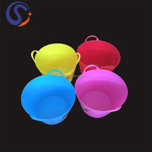 Christmas Party 12L Plastic Ice Bucket for Cooler as Promotion Gift