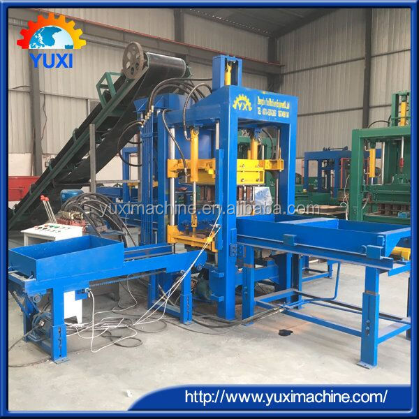 Best selling in alibaba QT4-15 used texture machine price brick block machine for sale