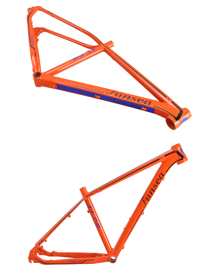 Customize manufactures China bicycle frames OEM design prices cheap mountain bike #6061 aluminum alloy 27.5 mtb frame