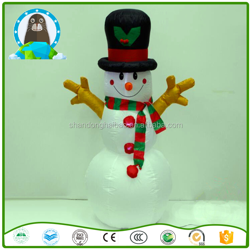Inflatable Christmas decorations Inflatable Snowman