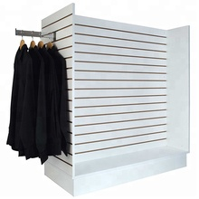 <strong>Hot</strong> sale free standing slatwall display for retail shop