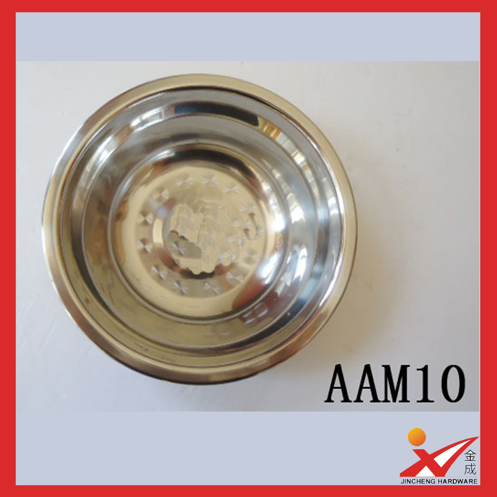 high quality various size stainless steel kitchen mixing deep bowl
