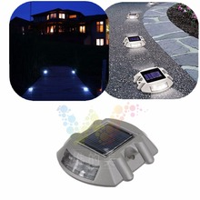 Hot Raised Pavement Maker Deck Dock Aluminum Solar Road Stud Light