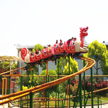 Amusement Rides outdoor wooden roller dragon coaster carnival funfair rides for sale