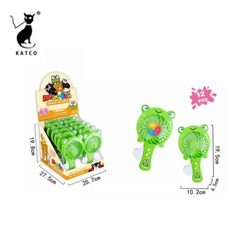 Plastic Hand Pressure Mini Fan Toys For Kids