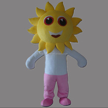 Lovely Sunflower Sun Flower Adult Mascot Costume Fancy dress high quality