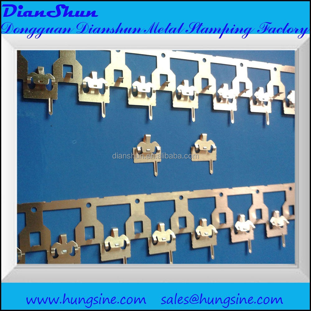 Guangdong Factory price progressive stamping parts high speed progressive <strong>metal</strong> stamping