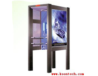 wall mirror telephone booth public phone booth for sale RF-20