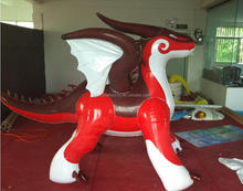 inflatable red dragon in hot sale