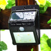 LED Outdoor Garden Wall Lamp Solar Fence Light