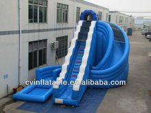 giant spiral inflatable slide pool,inflatable water slide ,inflatable water pool with giant slide