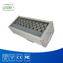 Built-in DMX signal decoder led long range 144W