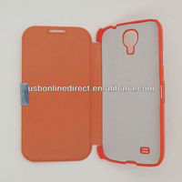 flip cute cover case for samsung galaxy S4 I9500 orange