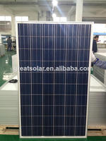 Professional skill 250w poly solar panel factory made in China