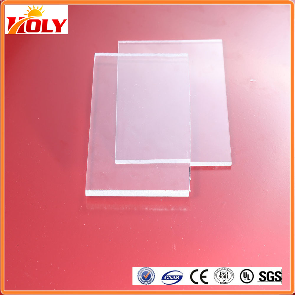 waterproof plastic Solid Polycarbonate Roofing Sheets for bullet proof shield