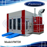High quality furniture spray booth paint booth/powder booth used