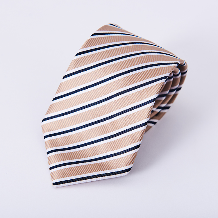 wholesale custom embroidered print silk slim tie fabric necktie