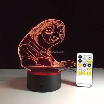 Creative Vision USB Connect LED Table Lamp 3D illusion Night Light Lamp