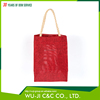 Functional OEM service polyester gift packaging tote bag